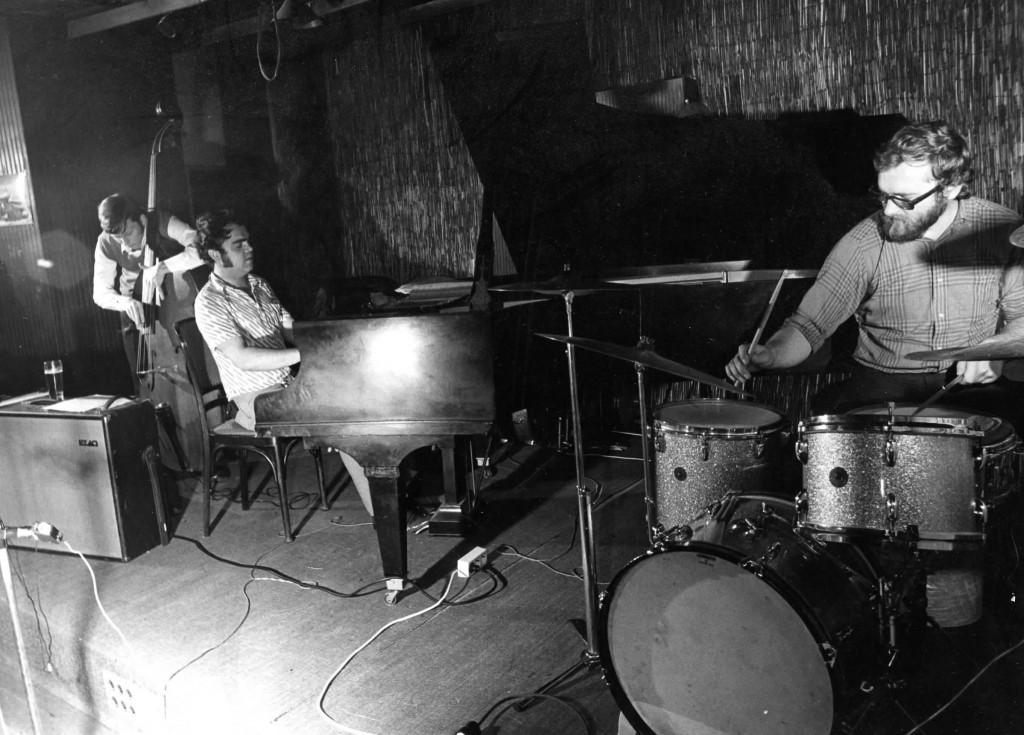 Mickey Bahner mit Eugen Cicero und Dee Bone ca. 1969