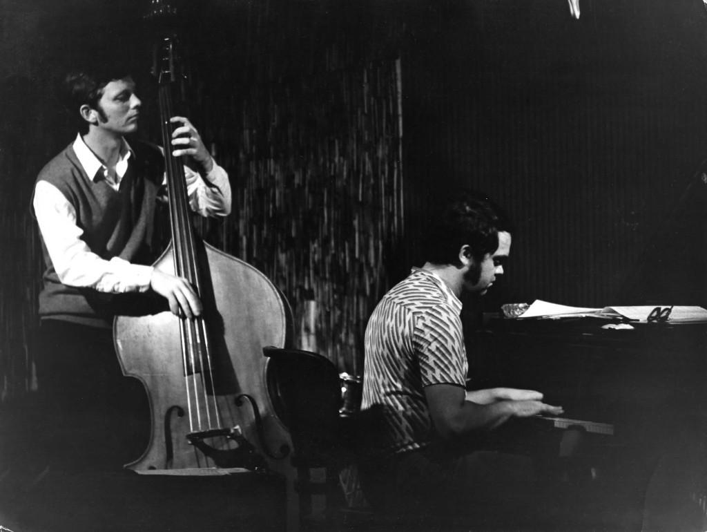 Mickey Bahner mit Eugen Cicero in der Jazzgalerie