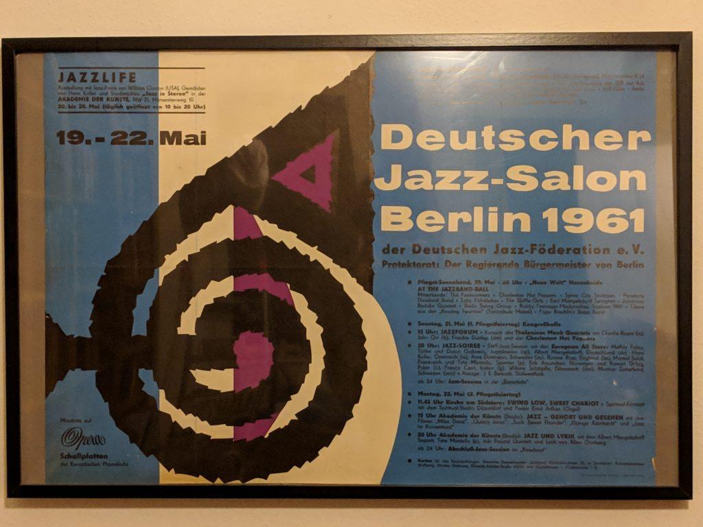 """Berlin Jatzzt"" - Ausstellungsrahmen 8"
